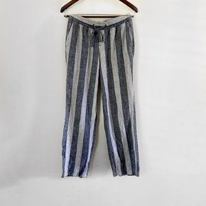 Old Navy Beachy Flowy Linen Pants Small